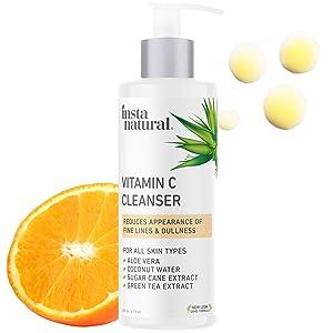 InstaNatural Facial Cleanser - Vitamin C Face Wash