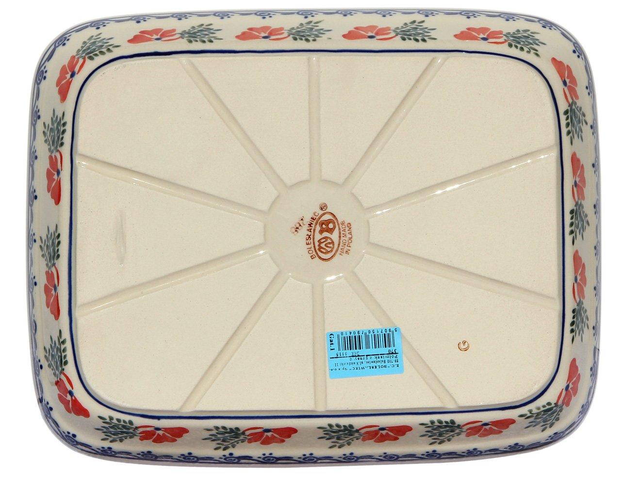Polish Pottery Baking Dish 8x10 Zaklady Ceramiczne Boleslawiec