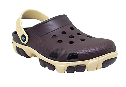 Buy Smart Shoe India Smart Shoe Men's Clogs for Men Brown Double Sole/Crox  Sandals/Clog/Croos Sandal at Amazon.in