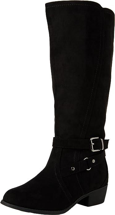 Wide Foot Bruges Knee High Boots