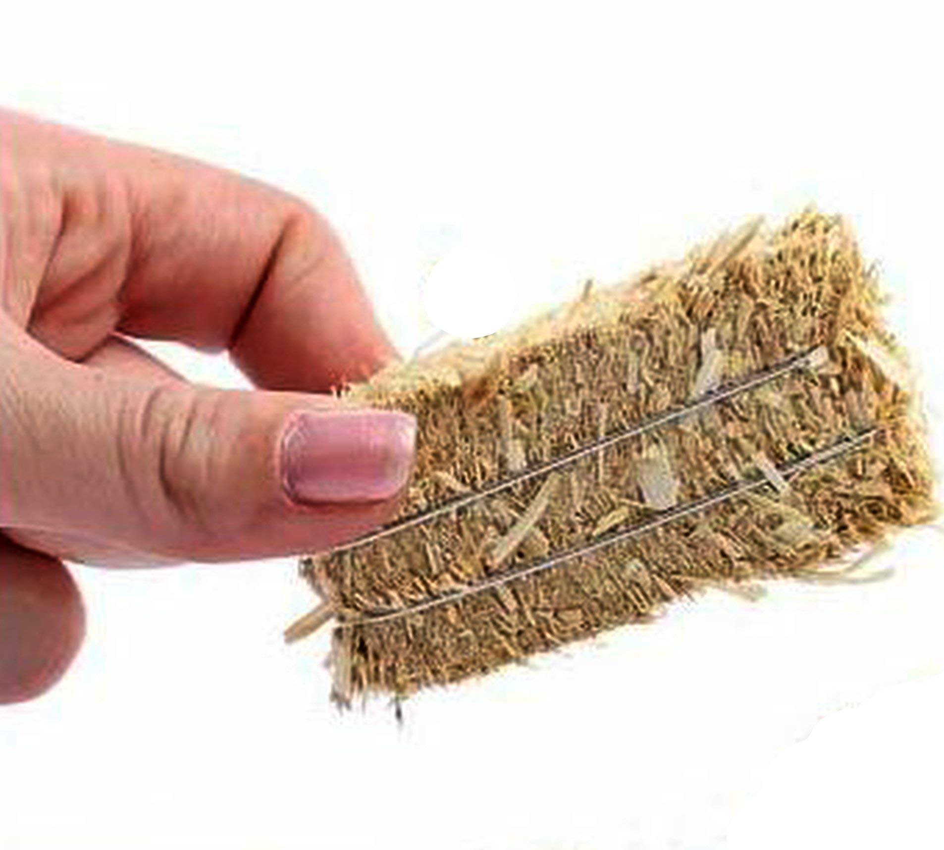 Hay Bales - Miniature Floral - Real Hay for Crafting - 2'' Long #101-0802