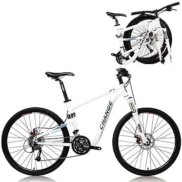 Change de 26 pulgadas de peso ligero de montaña de tamaño completo bicicleta plegable Shimano 27