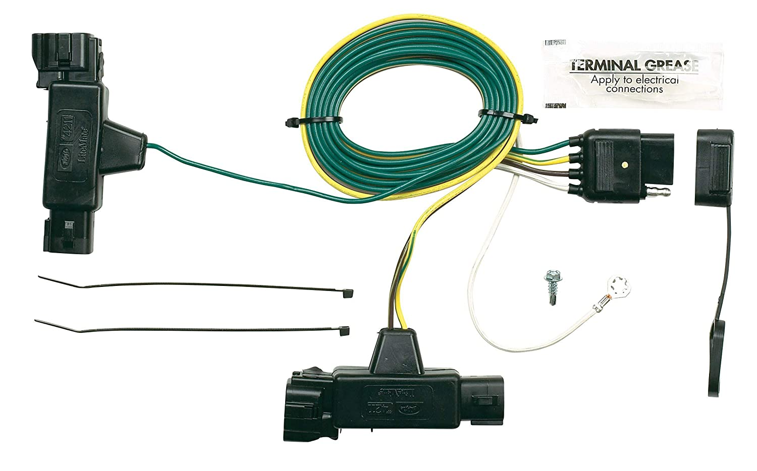 Hopkins 42115 Plug-In Simple Vehicle Wiring Kit Hopkins Towing Solution