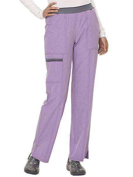 d1459632c89 Amazon.com: ScrubStar Women's Premium Scrubwear, Active Collection, 4-Way  Stretch, Moisture Wick Scrub Pant (Heathered Light Purple, X-Small, XS):  Clothing