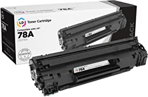 LD Compatible Toner Cartridge Replacement for HP 78A CE278A (Black)