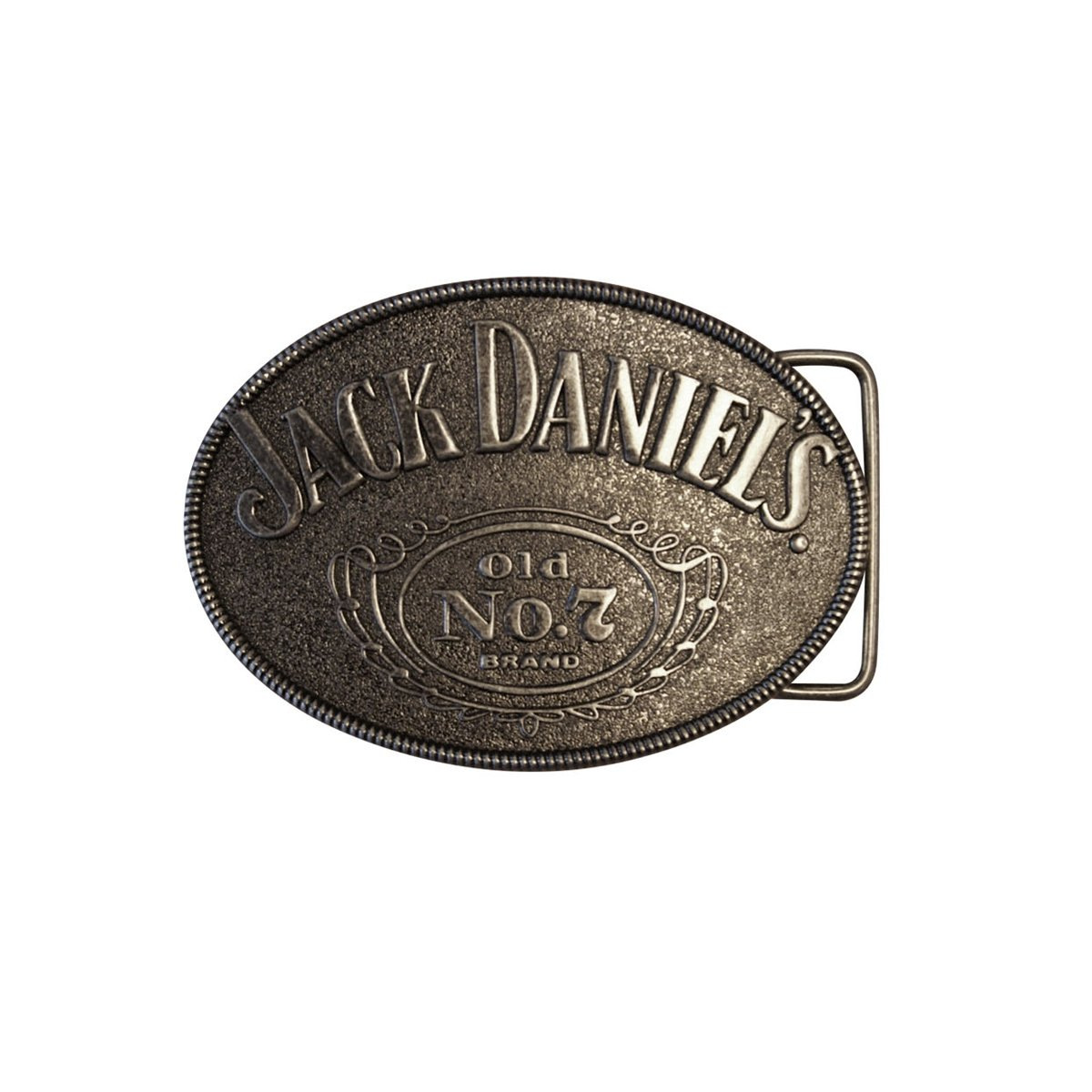 Fibbia Per Cintura Old No.7 Jack Daniels (Nero)