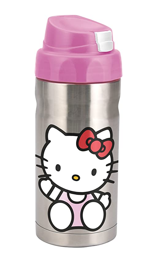 Planet Zak! Good to Go o Kitty 12-Ounce Double Wall Stainless Steel on home science, home tree, home tower, home truck, home color, home fire, home of superman krypton, home community, home of superman metropolis illinois, home flower, home ice, home food, home satellite, home school,