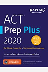 ACT Prep Plus 2020: 5 Practice Tests + Proven Strategies + Online (Kaplan Test Prep) Paperback