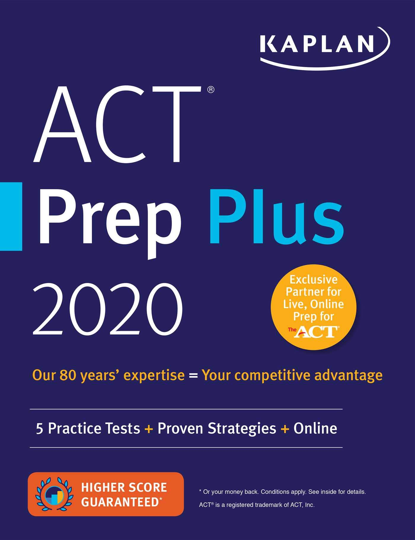 ACT Prep Plus 2020 Strategies product image