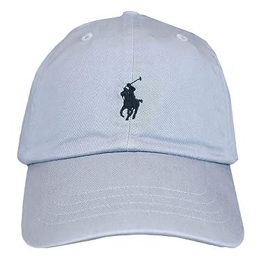 Ralph Lauren Casquette Grise Logo Noir pour Homme  Amazon.fr  Vêtements et  accessoires 89d1cb12620