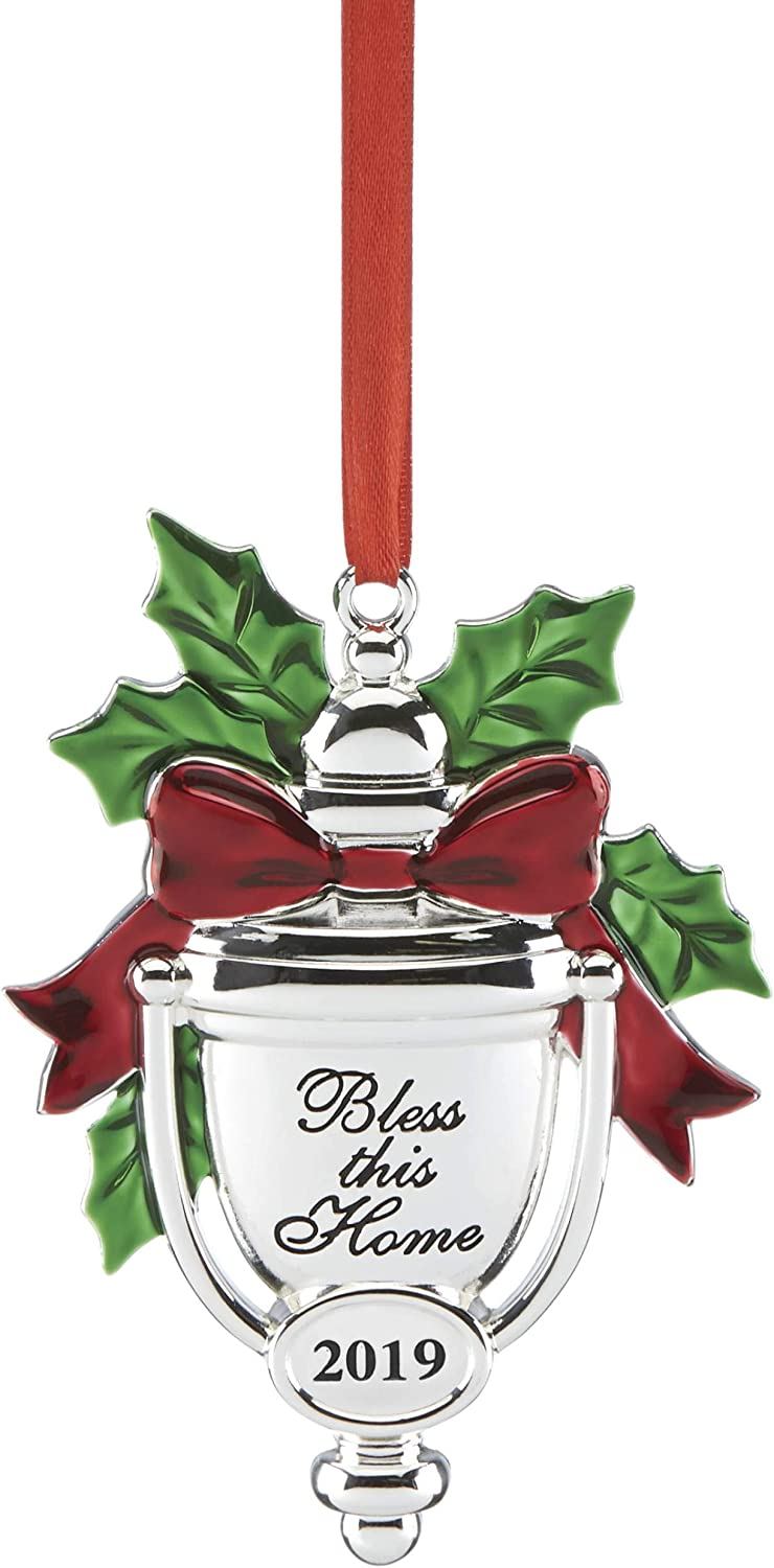 Lenox 884923 2019 Bless This Home Ornament