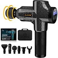 ALDOM Massage Gun Deep Tissue, Muscle Massager, Percussion Massager Handheld Electric Body Massager for Athletes, Back…