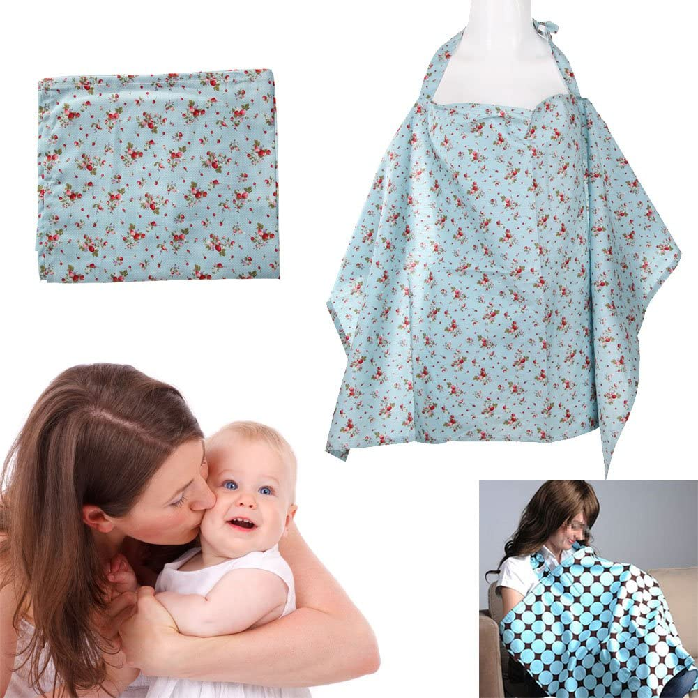 Diamondo Cotton Baby Mum Nursing Poncho Cover Up A