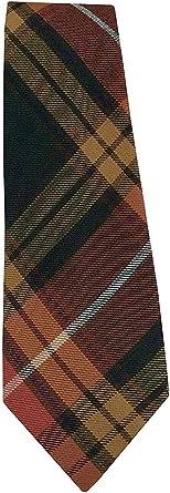 TARTAN TWEEDS Corbata escocesa de tartán para hombre Buchanan ...