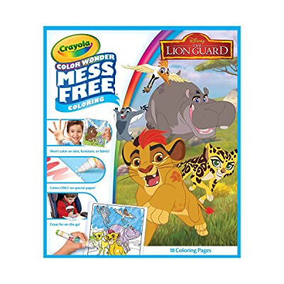 Crayola Color Wonder Refill Book, Lion Guard: Arts, Crafts & Sewing