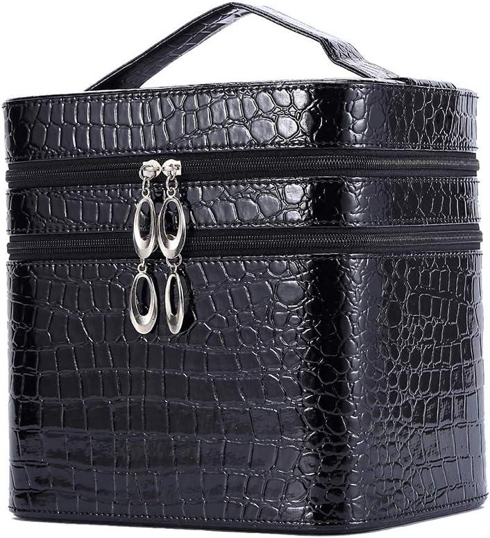 Sac COMETIC idéal pour les hommes Motif crocodile noir sac de toilette sac de lavage