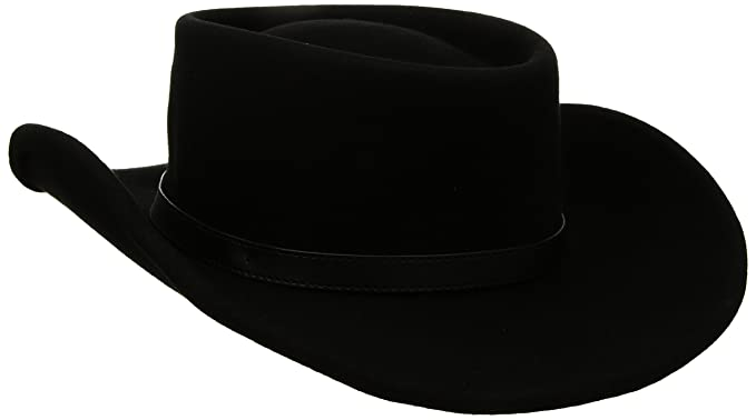 af6820c0d Twister Mens Crushable Gambler Hat Cowboy Hat