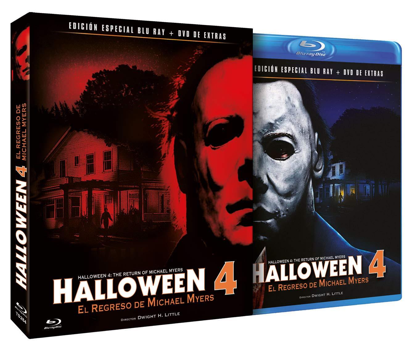 Halloween 4 - El Regreso de Michael Myers BD + DVD de Extras 1988 Halloween  4  The Return of Michael Myers  Amazon.it  Danielle Harris 66e7df299b1a