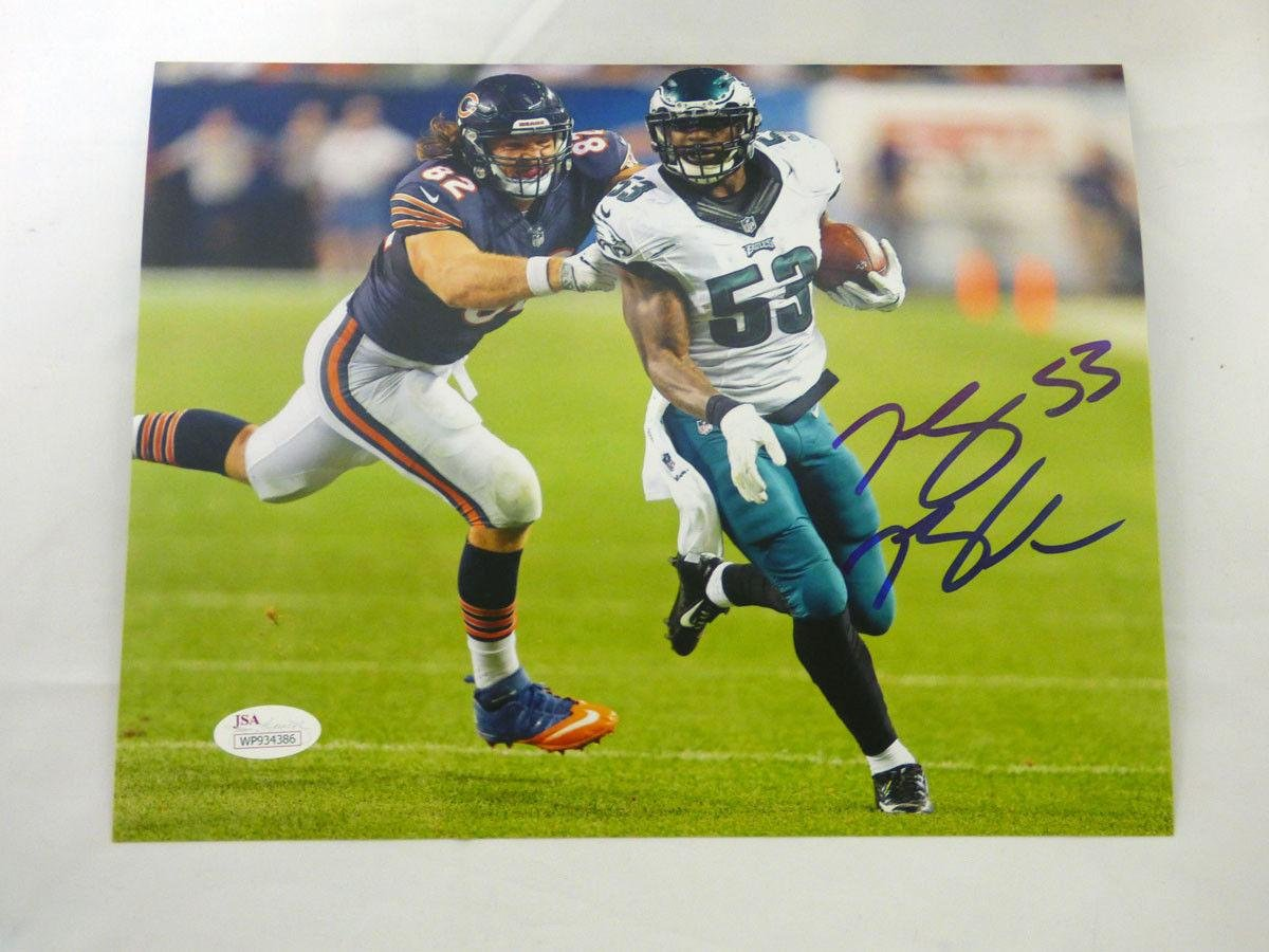 675394f0b Nigel Bradham Autographed Photo - 8x10 WITNESSED - JSA Certified -  Autographed NFL Photos at Amazon s Sports Collectibles Store
