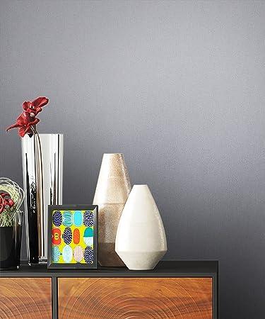 NEWROOM Steintapete Tapete Grau Unifarbe Struktur Uni Vliestapete Vlies  Moderne Design 3D Optik Tapete Einfarbig Unifarben