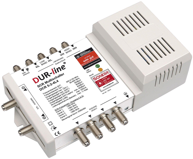 DUR-Line DCR 5-2-4-L4 SCR-Schalter: Amazon.de: Elektronik