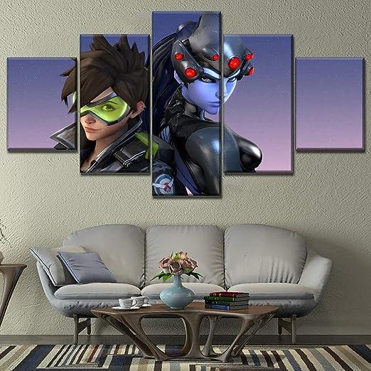aicedu Imagenes Enmarcadas 1 Panel Overwatch Tracer Y ...