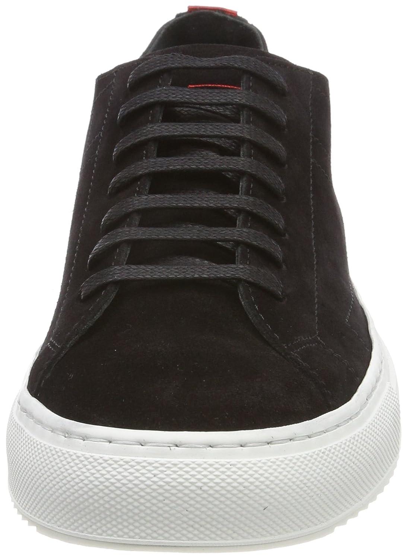 HUGO Damen Grünwich Niedrig Cut-s Sneaker 001) Schwarz (schwarz 001) Sneaker d142bb