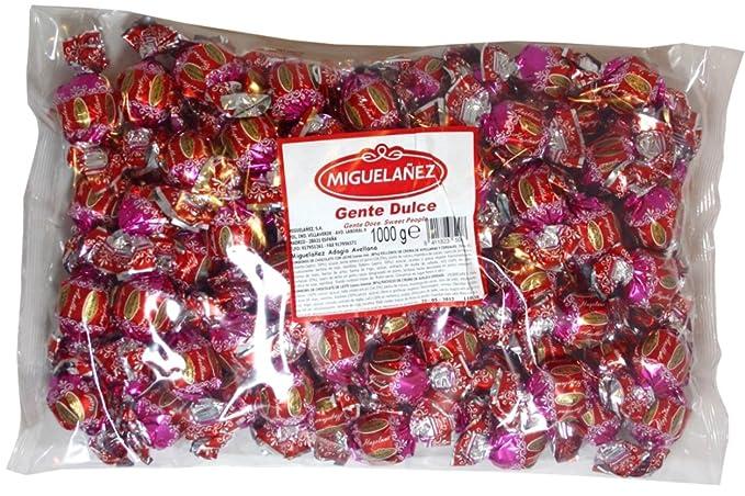 Bombones Miguelañez Chocolate Avellana. Bolsa de 1 Kg.