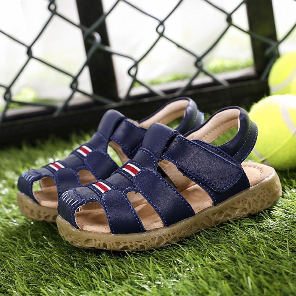 KVbabby Geschlossene Sandale f/ür M/ädchen Jungen Sommer Atmungsaktiv Kindersandalen rutschfest Sport /& Outdoor Strand Wanderschuhe