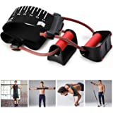 Fitness Resistance Band Pull-ups Assist Band Push Up Stand Bar for Exercise Home Gym Chest Shoulder Back and Arm Muscles…