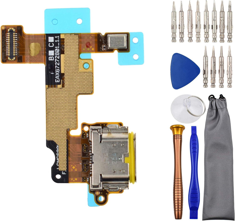 Puerto de carga usb para LG G6 H873 H870 H870S LGM-G600L H87