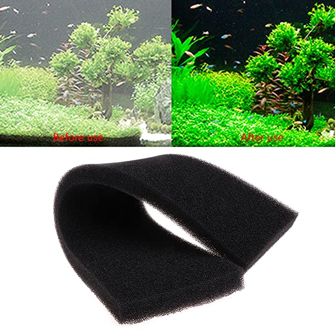 Xuniu Almohadillas de la Esponja del Acuario, filtración bioquímica del Bloque de la Espuma del Filtro del Acuario: Amazon.es: Hogar