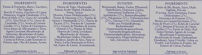 Border Biscuits - Galletas de mantequilla: Amazon.es: Alimentación y bebidas