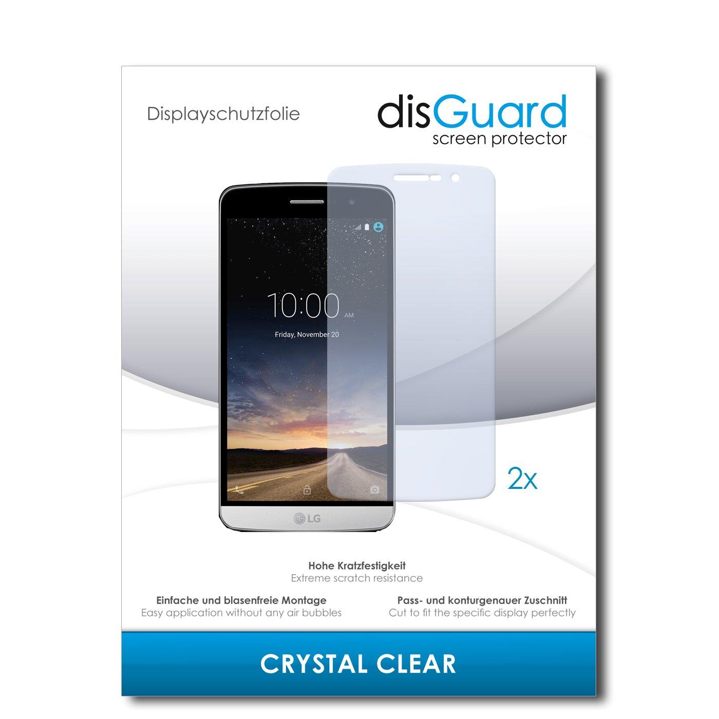 disGuard® Protector de Pantalla [Crystal Clear] compatibile con LG ...