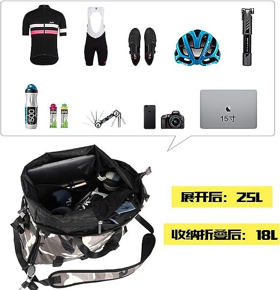 Asvert Fahrradtasche Gep/äcktr/äger Tasche wasserdichte Gep/äcktr/ägertasche Fahrrad Hinterradtasche 20L