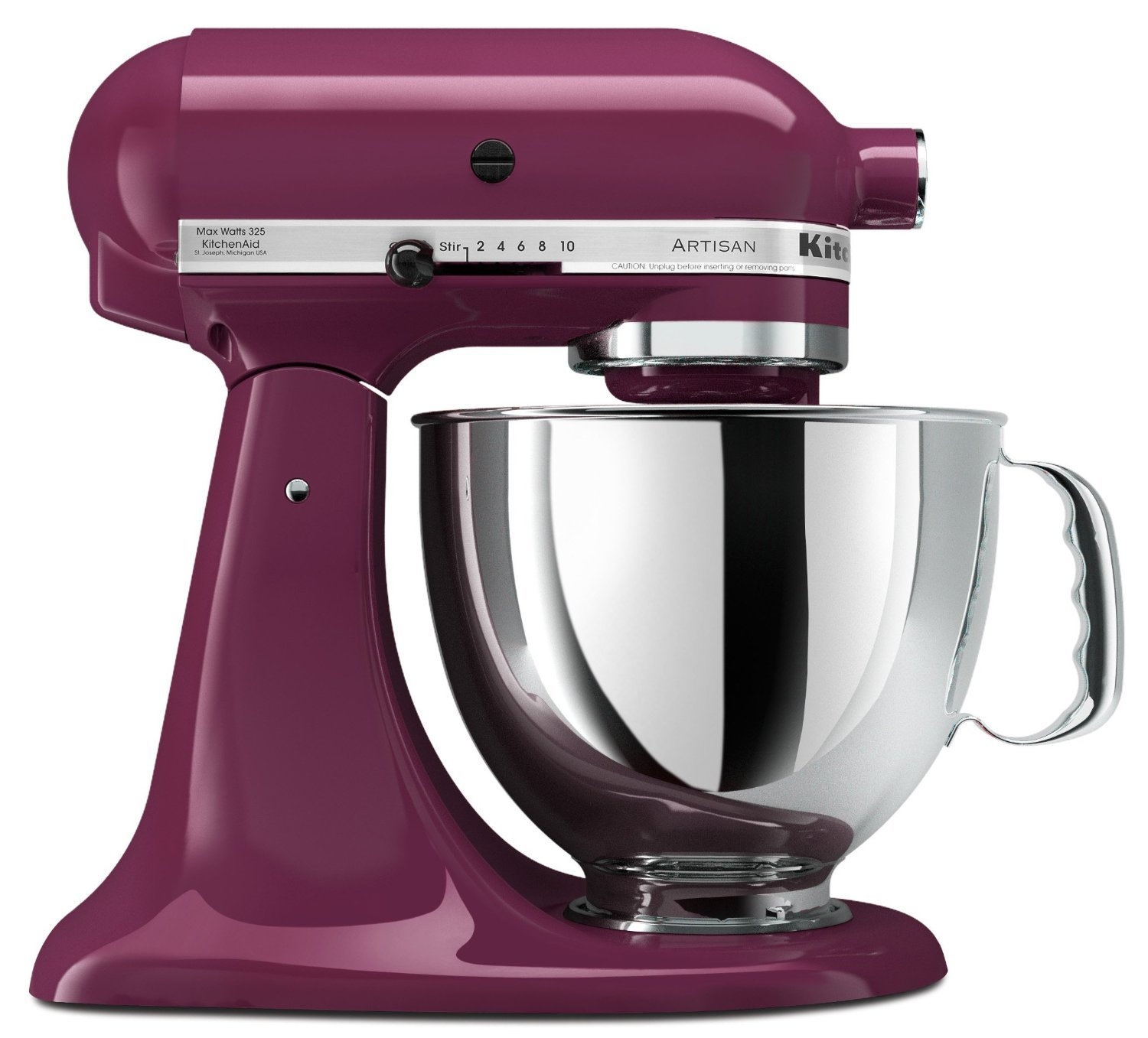 Amazon.com: KitchenAid Artisan Mixer 5KSM150PSE (220Volt WILL NOT WORK IN  THE USA) (Boysenberry): Electric Stand Mixers: Kitchen U0026 Dining