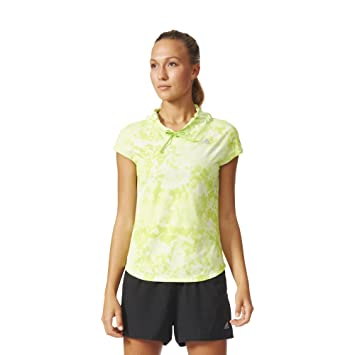Adidas Mujer Sin Mangas Unidad - Sudadera para Mujer kanoi Run Short Sleeve W Verde Verde Claro Talla:52 [DE 50]: Amazon.es: Deportes y aire libre