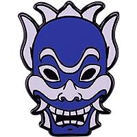Blue Spiritmasks Badge Last Airbender Pin Prince Zuko Brooch Mysterious Avatar Accessory