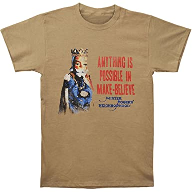Tops & Tees Mr Rogers Neighborhood Mens You are T-Shirt Heather Khaki Novelty & More