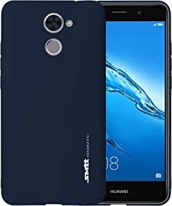 Huawei Y7 Prime SMTT Candy Series TPU Soft Case Cover - Navy Blue
