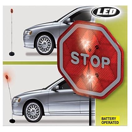 LED Asistente de aparcamiento Park Señal parada Cartel Park ...