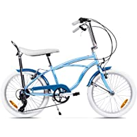 Ape Rider Urbano City Bike para Adulto - 7 Velocidad Cruiser - Altura Recomendada 140-170 cm
