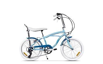 Ape Rider Urbano City Bike para Adulto - 7 Velocidad Cruiser - Altura Recomendada 140-170 cm (azul): Amazon.es: Deportes y aire libre