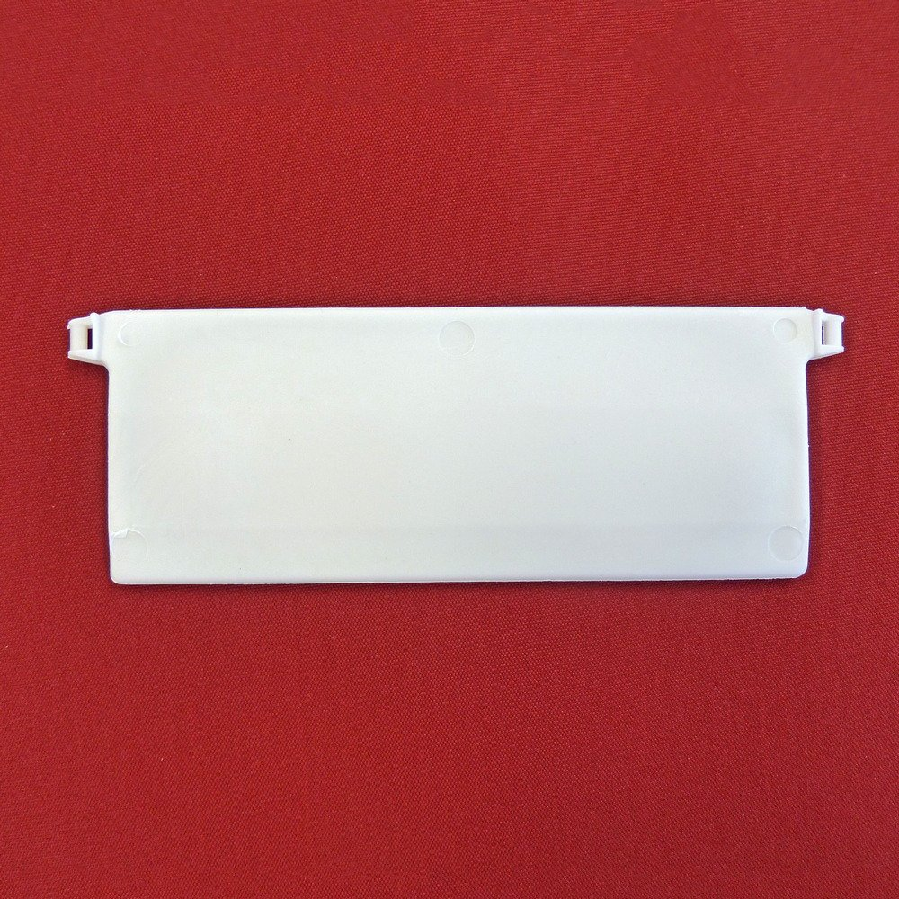 Easy-Shadow - 40 Stück Beschwerungsplatten Gewicht für Lamellenvorhang Stofflamellen Stofflamellen Stofflamellen Breite 127 mm – Vertikal Lamellen Vorhang   Vertikal Jalousie   Vertikaljalousie   Vertikal-Anlage   Vertikalanlage   Vorhang-Lamellen 127mm - weiß dec075