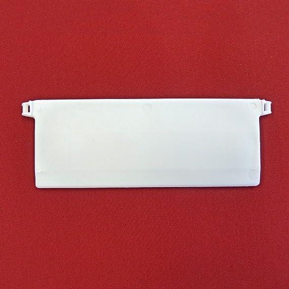 Easy-Shadow - 30 Stück Hochwertige Beschwerungsplatten inkl. Verbindungskette Gewicht für Lamellenvorhang Stofflamellen Breit