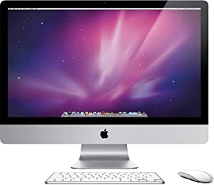 Apple iMac MB952LL/A Intel Core Duo E7600 X2 3.06GHz 4GB 1TB DVD+/-RW 27in (Scratch & Dent) (Renewed)