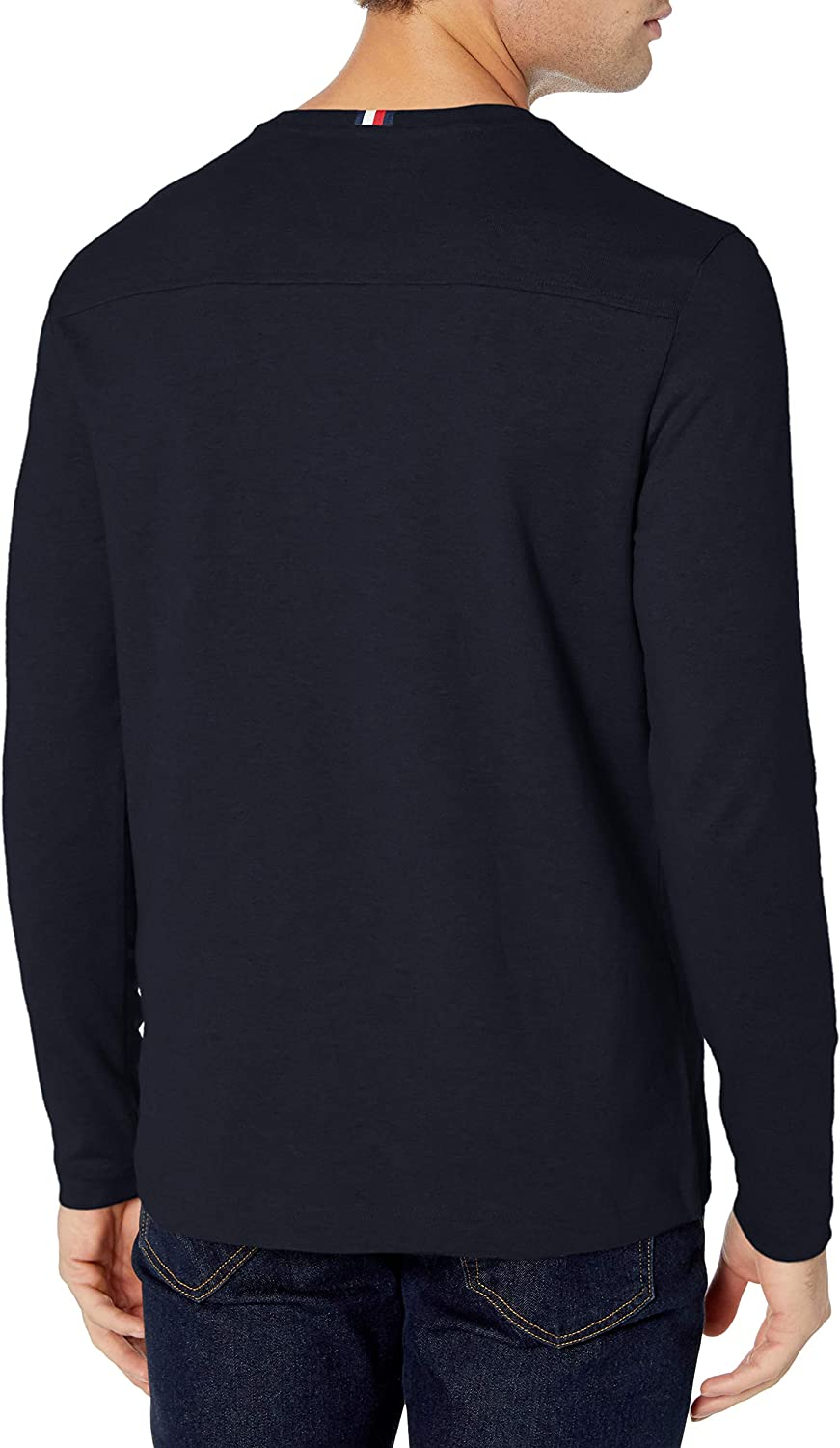 Tommy Hilfiger Mens Long Sleeve Cotton T Shirt T-Shirt