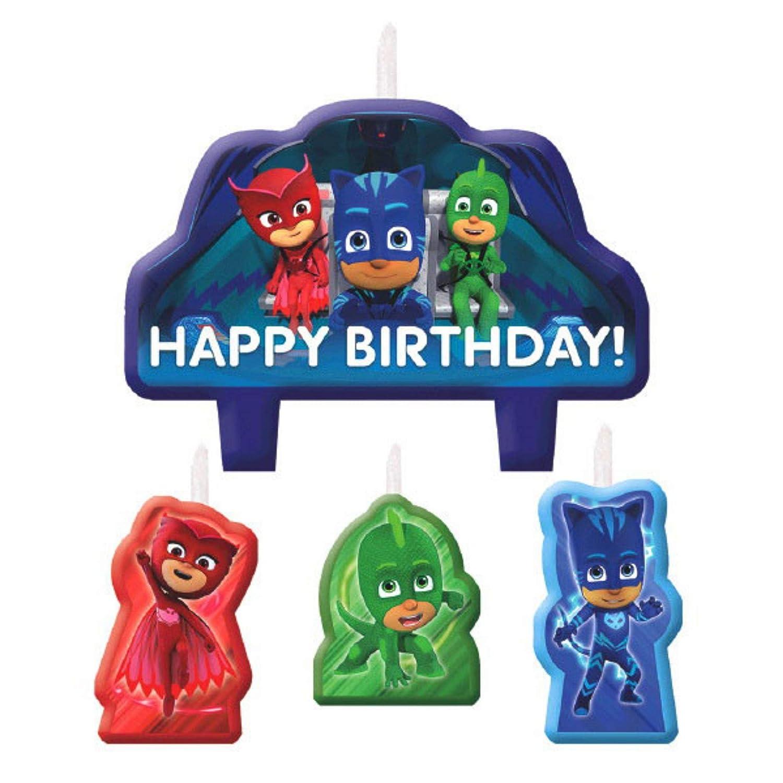Premium PJ Masks Birthday Party Supplies Bundle ParteePak