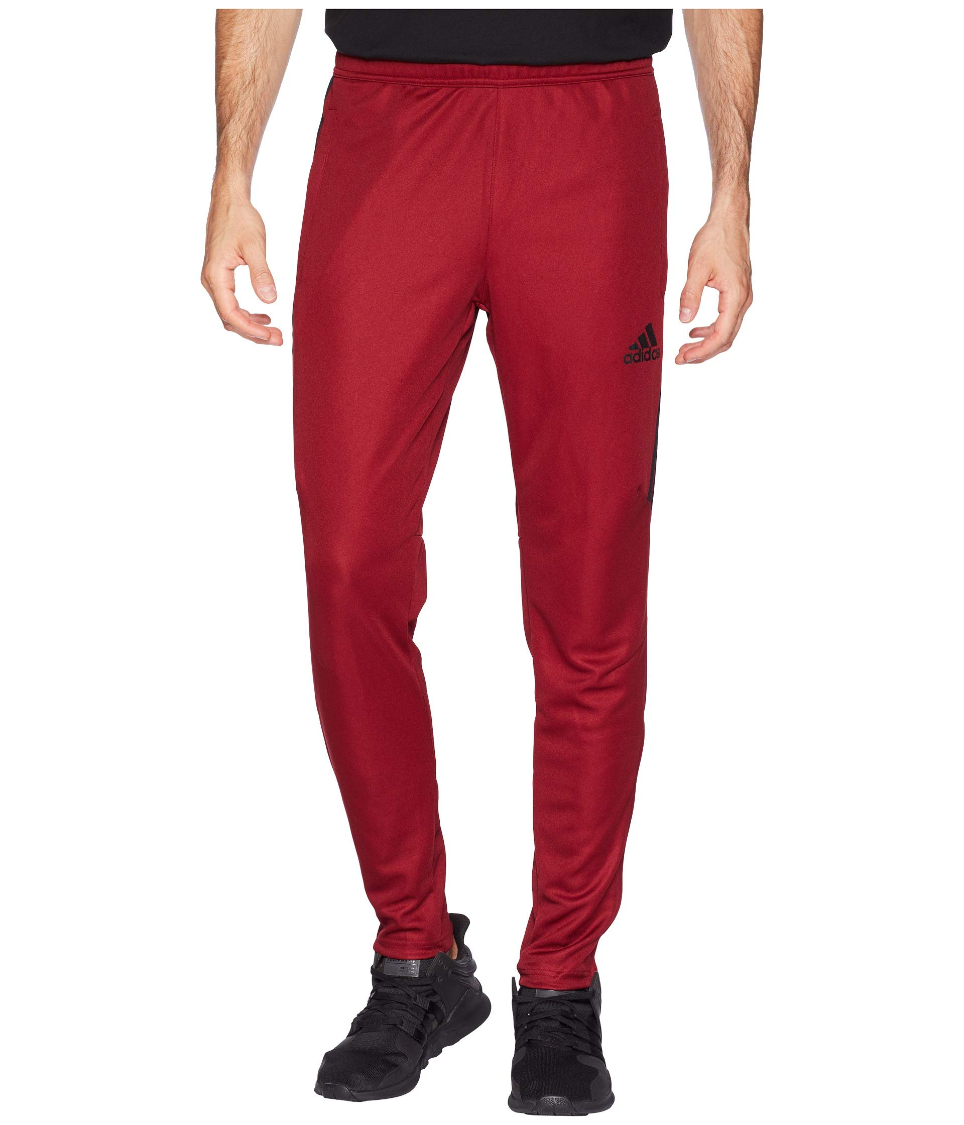 adidas Men's Tiro '17 Pants Collegiate Burgundy/Black Medium 31 by adidas
