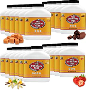 1-Year Emergency Survival Food Supply Mix Flavor 25year Shelf Life None GMO Gluten-Free